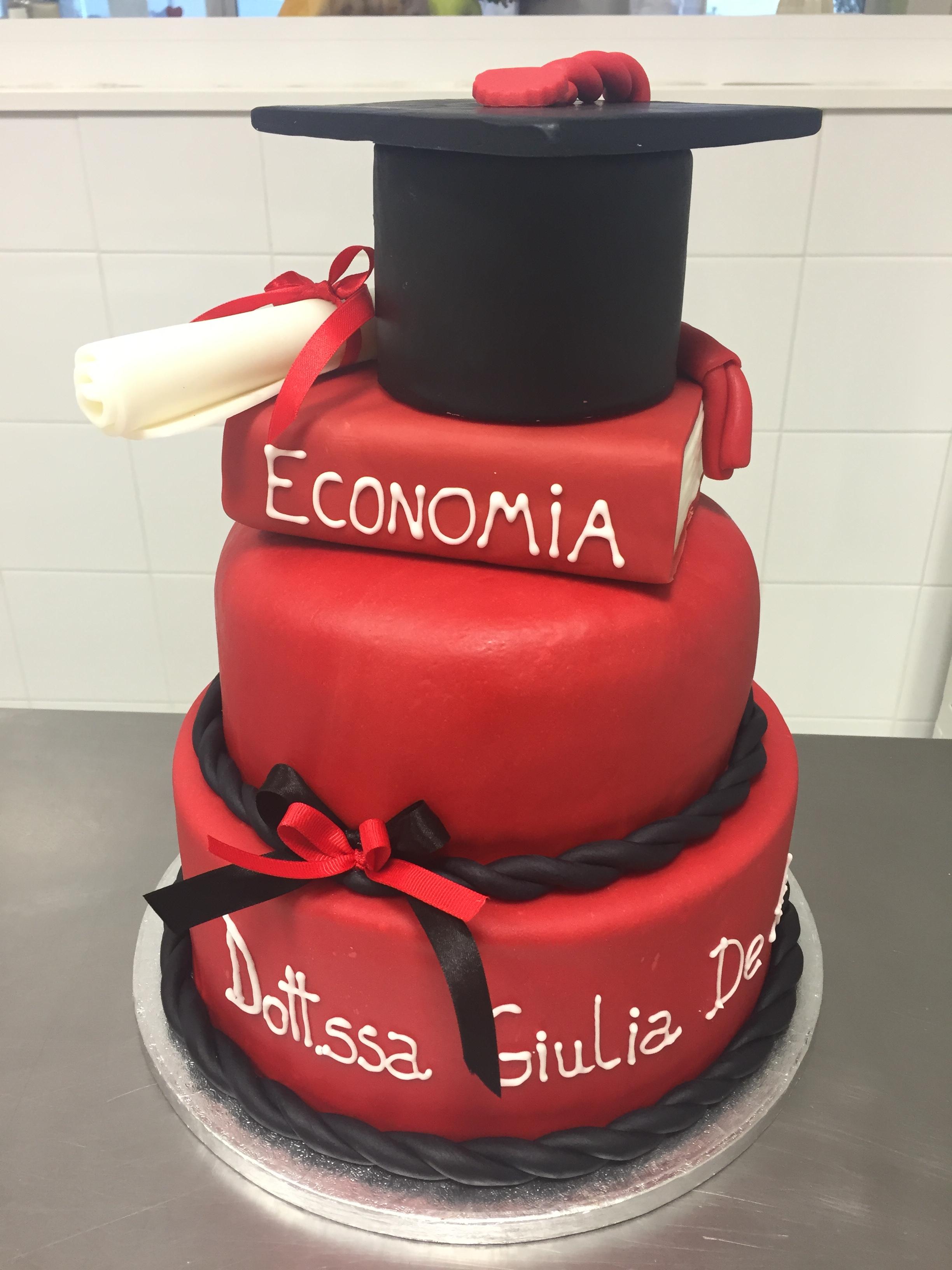 Favoloso Torta di laurea - Cake Design: Torte personalizzate a Roma HY05