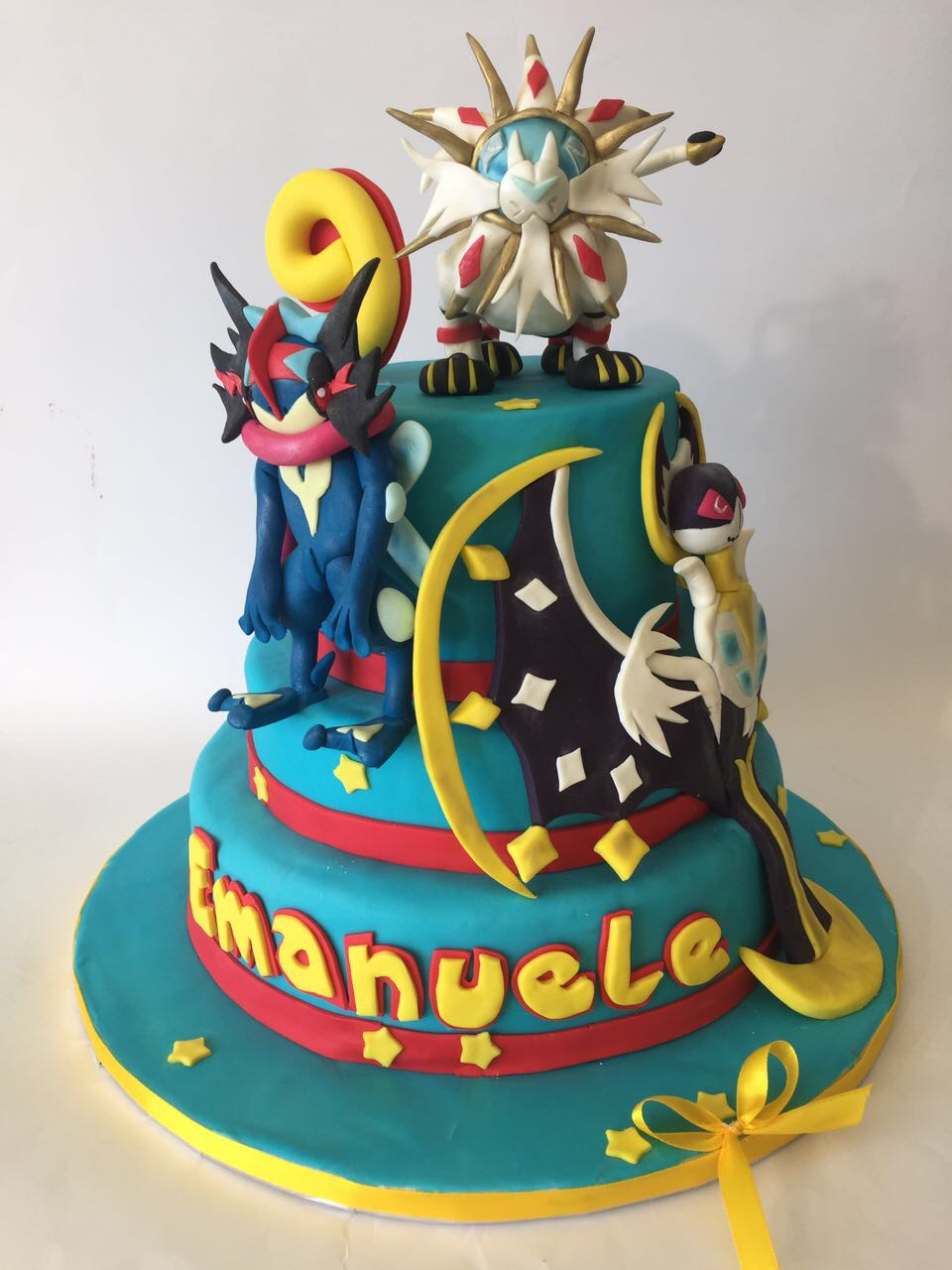 Torta Di Compleanno In Pasta Di Zucchero Cake Design Torte