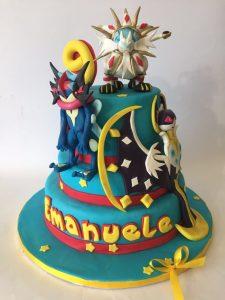 torta di cake design per compleanno bambino