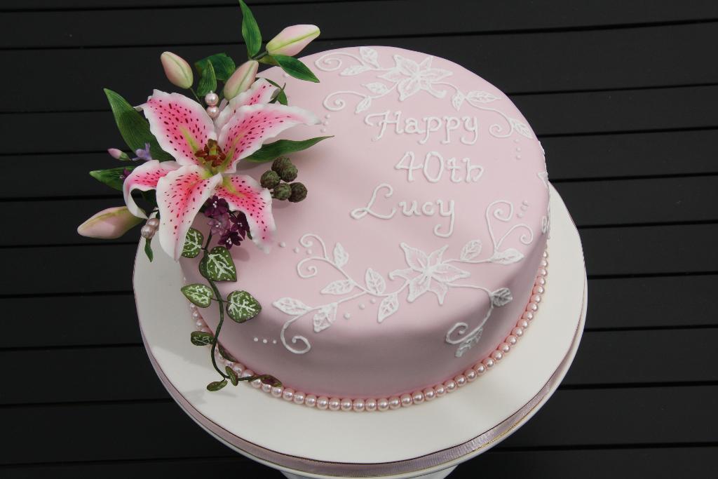 Cerchi Una Torta Di Compleanno Speciale Per I Tuoi 40 Anni Cake