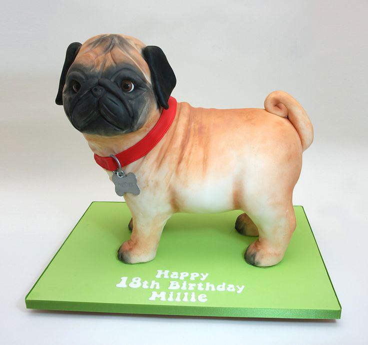 Cake design artistico cagnolino