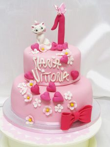 Torta Cake design compleanno bambina