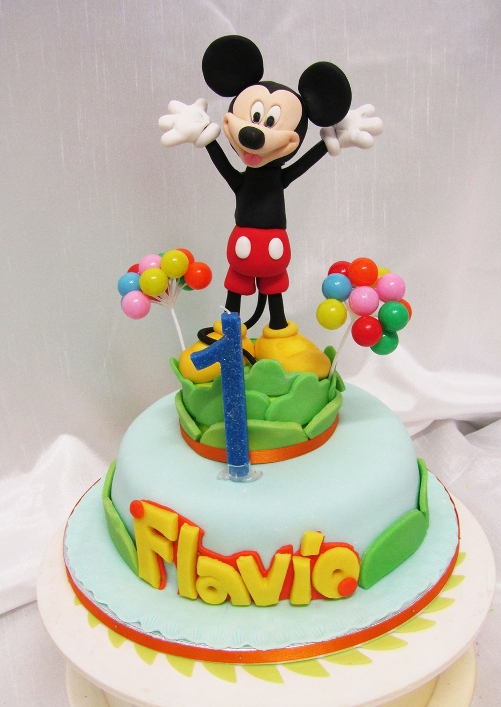 Torta Cake design compleanno topolino