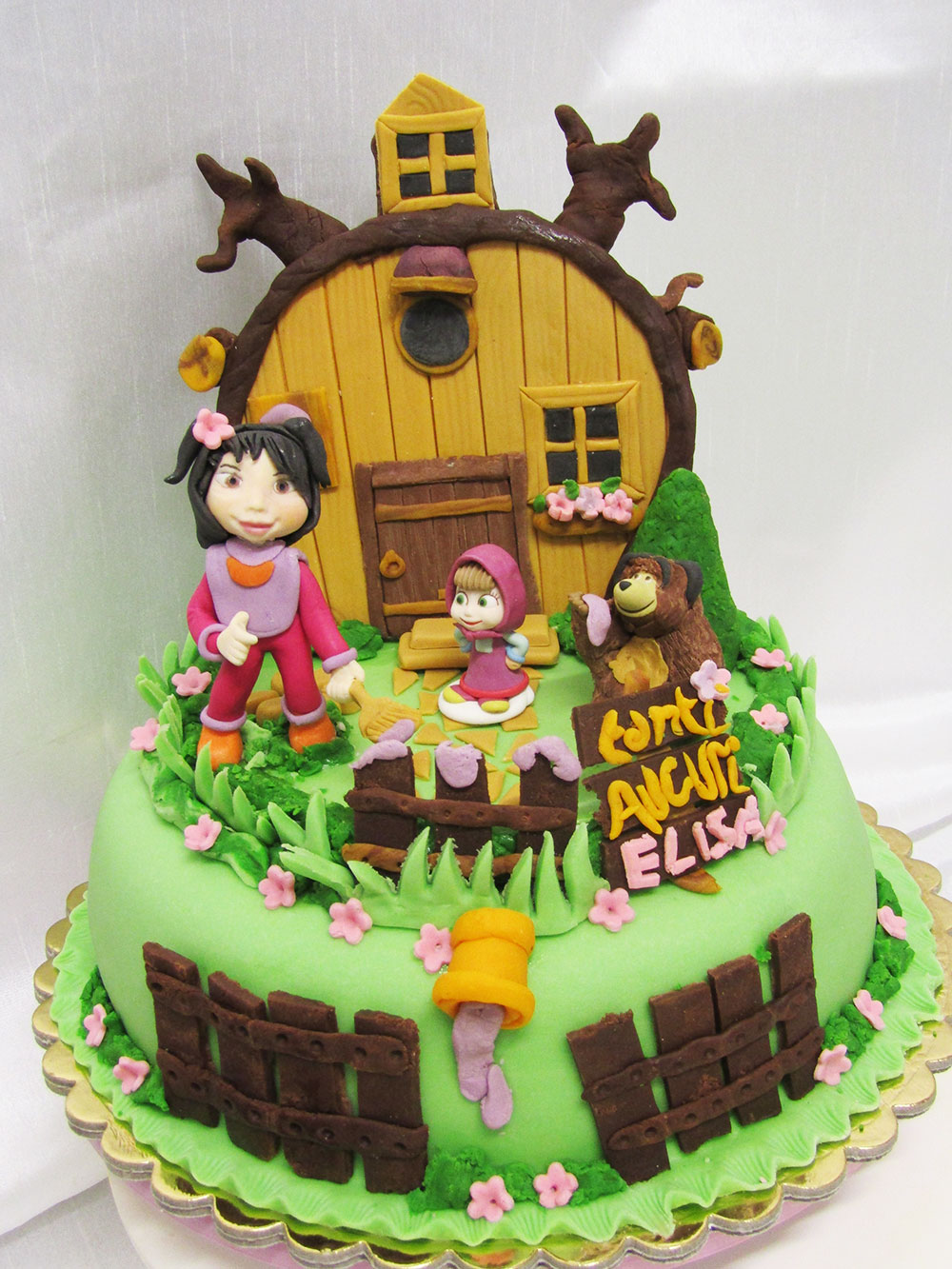 Torta Cake design compleanno