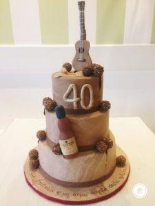 cake design 40 anni
