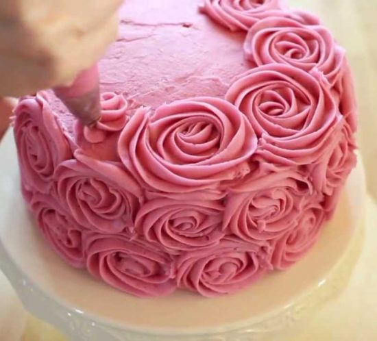 Torte colorate e decorate